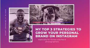 Grow personal brand on instagram